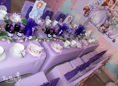 Sofia The First Themed Tea Party Cape Town B