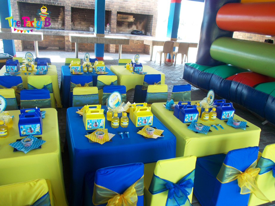 Minions Themed Party Cape Town The Party B Kids Party