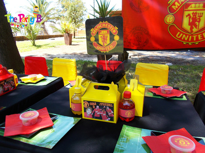 manchester united themed party cape town   the party b