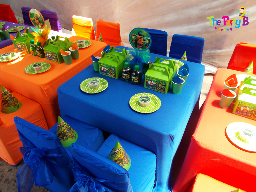 Ninja Turtles Themed Party Cape Town The B Kids