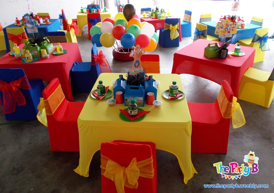 Mickey Mouse Clubhouse Table Decorations
