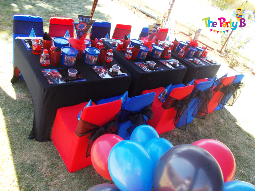 spiderman themed party cape town   the party b kids